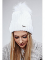 Biela dámska čiapka C1 #4
