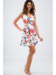 Biele letné šaty TA6167 #1