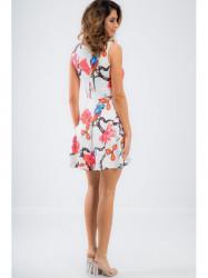 Biele letné šaty TA6167 #2