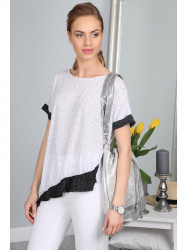 Bielé, moderné tričko