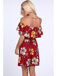 Bordové dámske šaty 1774 #1