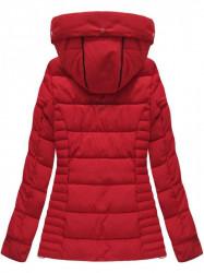 Červená dámska zimná bunda W736 #2