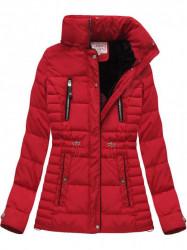 Červená dámska zimná bunda W736 #3