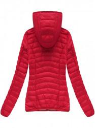 Červená prechodná bunda B1011