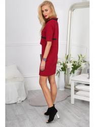 Červené šaty 0011