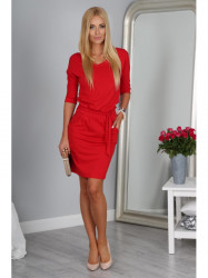 Červené šaty 9729