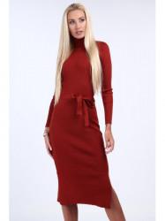 Červené svetrové šaty 2008