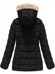 Čierna dámska zimná bunda B1051 #1