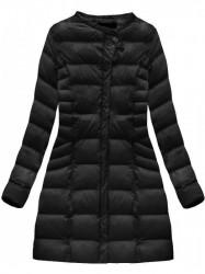 Čierna dámska zimná bunda W751BIG #1