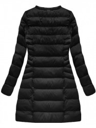 Čierna dámska zimná bunda W751BIG #2