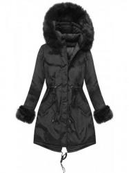 Čierna obojstranná zimná bunda PM7210