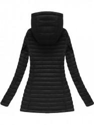 Čierna prechodná bunda 7218BIG