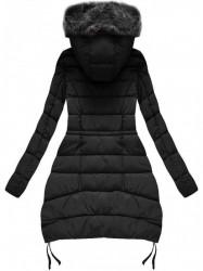 Čierna zimná bunda B3595 #1