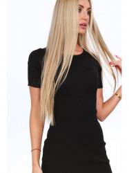 Čierne dámske šaty 08147
