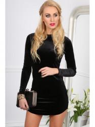 Čierne mini šaty