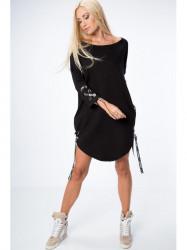 Čierne šaty 1403
