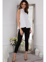 Čierne SLIM jeansy #2