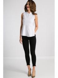 Čierne SLIM jeansy #4