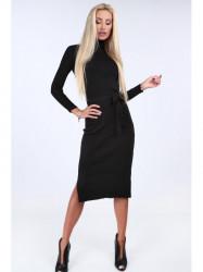 Čierne svetrové šaty 2008