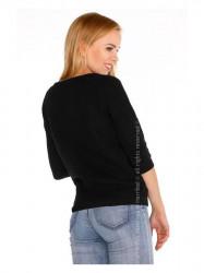 Čierny dámsky sveter Elpidana