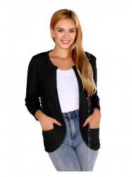 Čierny dámsky sveter Hetiena