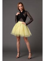 Citrónová sukňa