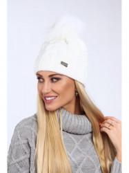 Dámska biela čiapka C23