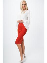 Dámska červená sukňa MP82458