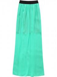 Dámska dlhá sukňa 105ART, mätová #1