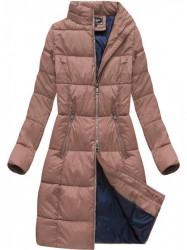 Dámska dlhá zimná bunda 7701, staroružová #3