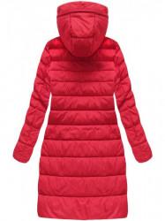 Dámska dlhá zimná bunda 7754BIG, červená #2
