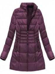 Dámska dlhá zimná bunda B1023-30, fialová #2