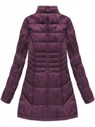 Dámska dlhá zimná bunda B1023-30, fialová #3
