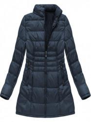 Dámska dlhá zimná bunda B1023-30, modrá #2