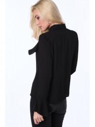 Dámska košeľa MP26007, čierna