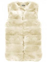 Dámska krémová vesta 151ART