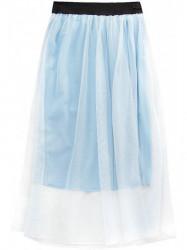 Dámska midi sukňa 96ART, modrá
