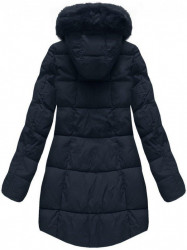Dámska modrá zimná bunda 7703 #1