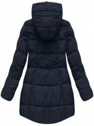 Dámska modrá zimná bunda 7703 #3