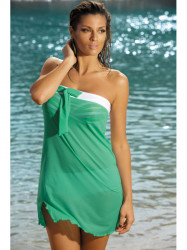 Dámska plážová tunika Mia M-241 zelená (311)