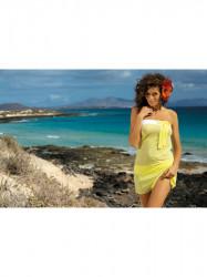 Dámska plážová tunika Mia M-241 žltá (311)
