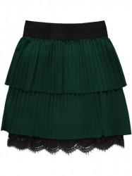 Dámska plisovaná sukňa 18922, zelená