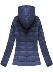 Dámska prechodná bunda 1706, tmavo modrá