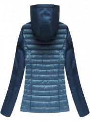Dámska prechodná bunda 18019, modrá