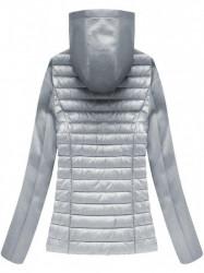 Dámska prechodná bunda 18019, sivá