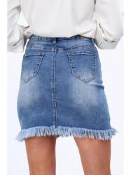 Dámska riflová mini sukňa 1138 #2