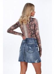 Dámska riflová sukňa 8070 #2