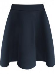 Dámska rozšírená sukňa 3151 tmavomodrá