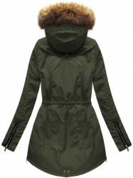 Dámska zimná bunda 7308, army