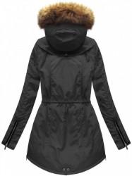 Dámska zimná bunda 7308, čierna